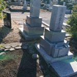 多磨霊園にて木の伐採。また、お見せしたいお墓がたくさん!