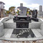 多磨霊園にて、フルリフォームされた洋型のお墓が完成しました。