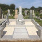 フルリフォームの和型のお墓が完成いたしました。小平霊園にて